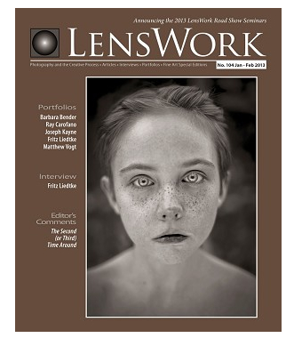 Lenswork Magazine Issue #104, Jan-Feb 2013 Coastal Perspective gallery featured