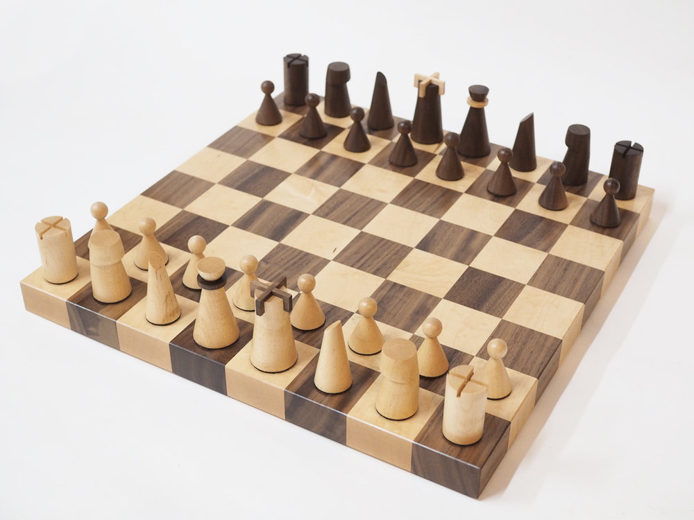 custom made chess set wooden pieces gift.jpg