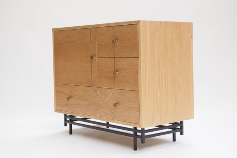marquetry cabinet oak and brass steel.jpg