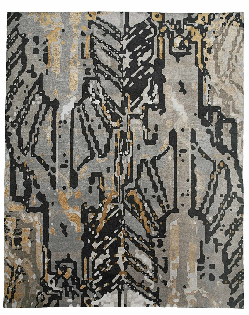 wool company silk gosling by empire contemporary rug new the patterned hall dering rugs tim