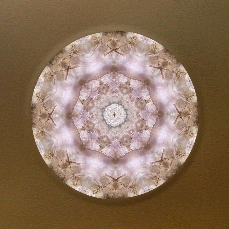 [Buddha Blessing] Mandala Art by Alicia Kent, one of your gifts with a purchase of $150 or more