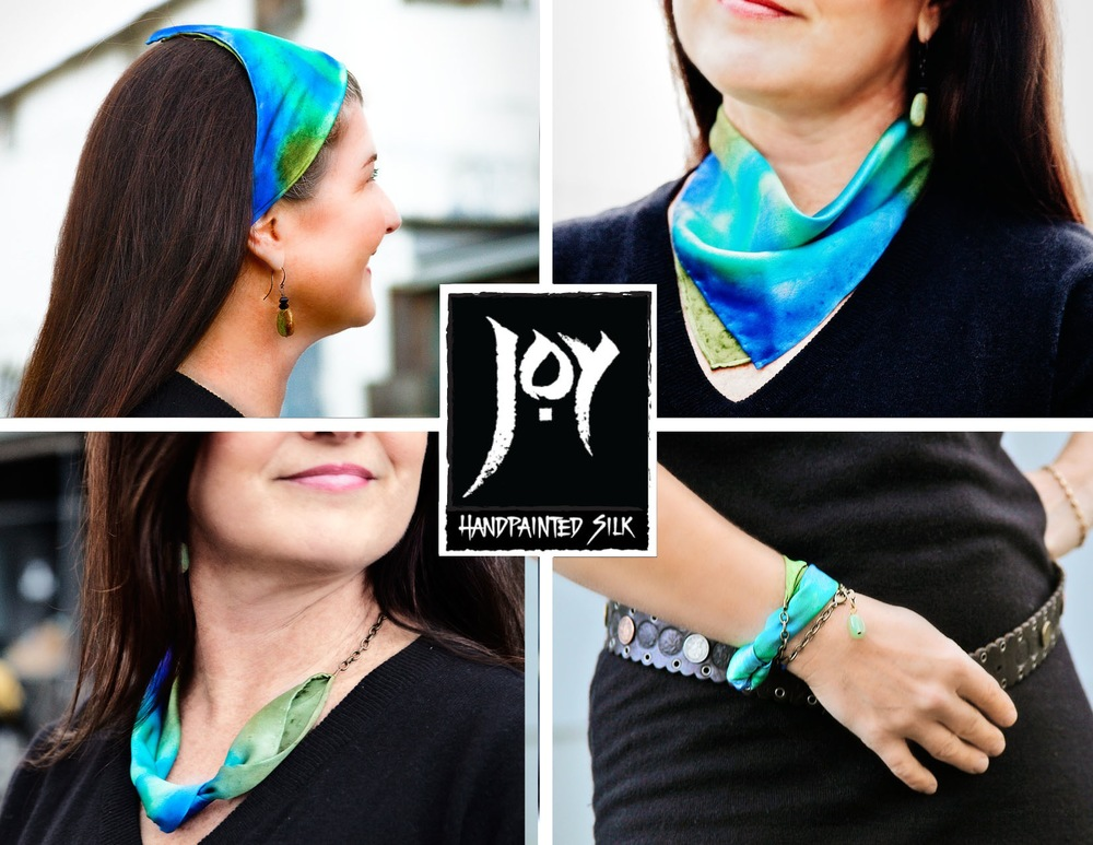 Scarflette from Joy Silk! One lucky shopper will receive their choice of color as part of the grand prize drawing!