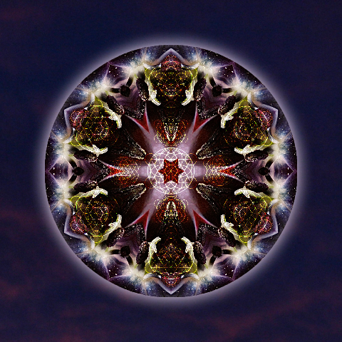 [Scorpio Moon Warrior] Mandala Art by Alicia Kent, receive this as one of your gifts with a purchase of $150 or more