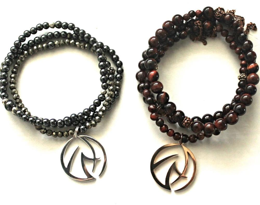 Manifest Your Heart's Desire -- Your choice of one of these bracelet stacks