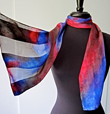 Receive this hand painted Joy Silk scarf as part of your gift-with purchase package, when you spend $500 or more