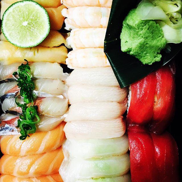 Dinner. Thank you @chef_morimoto #howwedo #whatwouldwineshopdo #loveyoumeanit #thisisgoodshityo