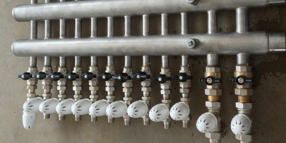 Collettore Mandata e Ritorno per impianto di climatizzazione estate inverno a Ventilconvettori