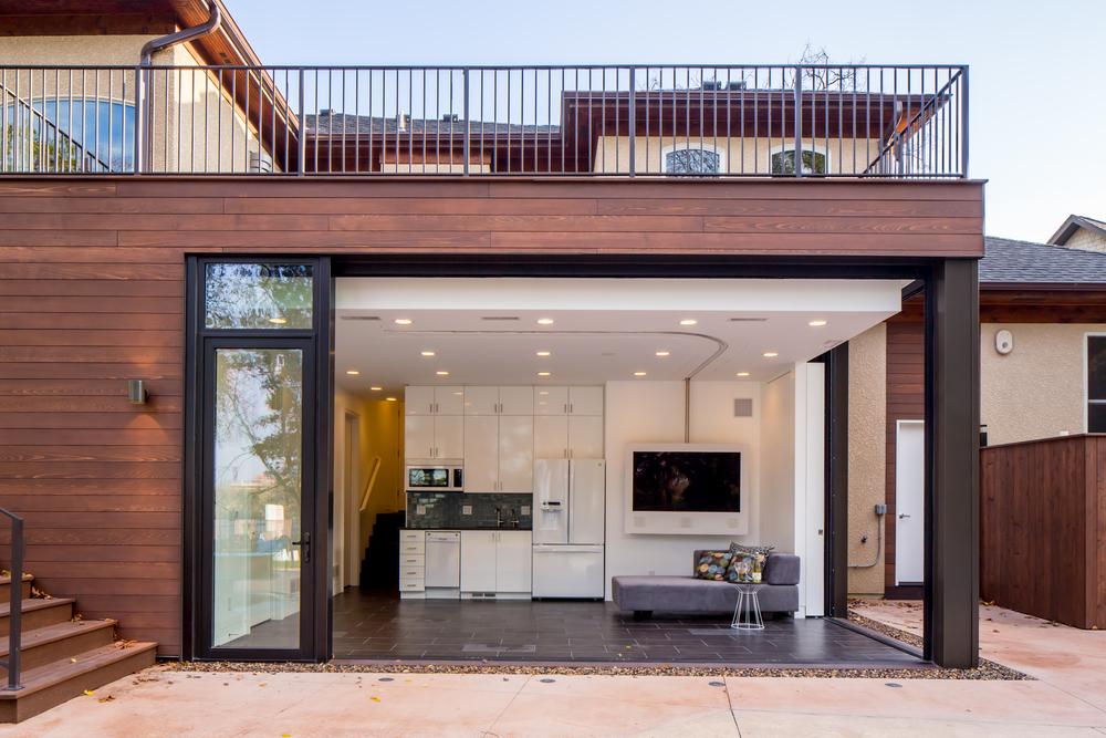 Homes citydeskstudio for Pool house additions