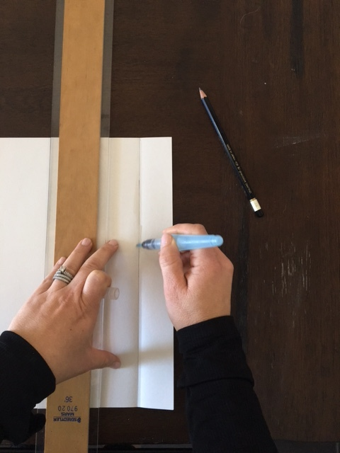 hand torn paper DIY