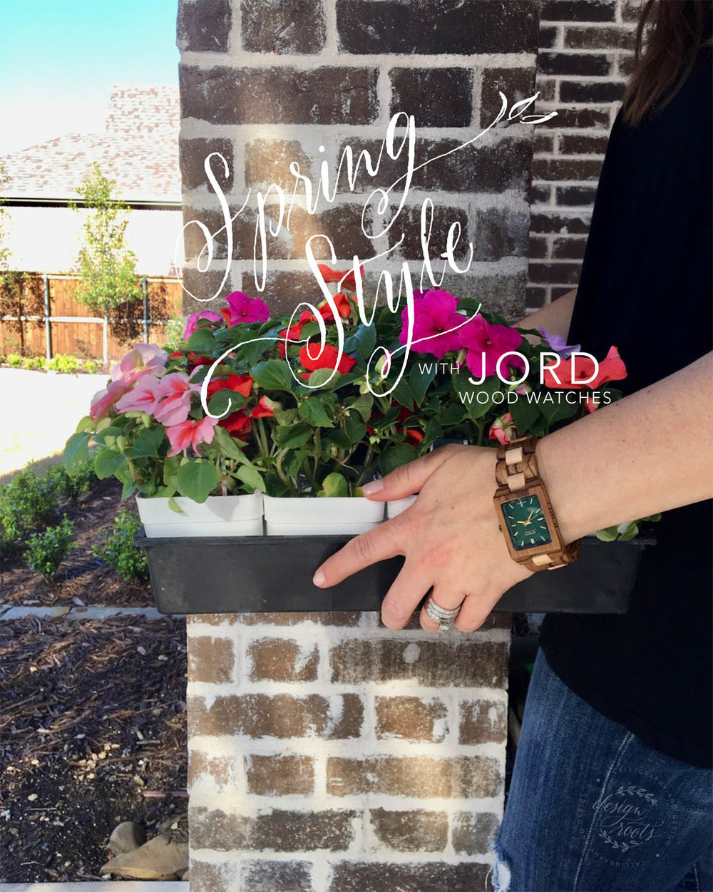 spring style with JORD watches
