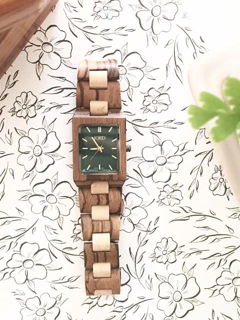 emerald JORD watch
