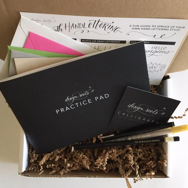 hand lettering kit designroots
