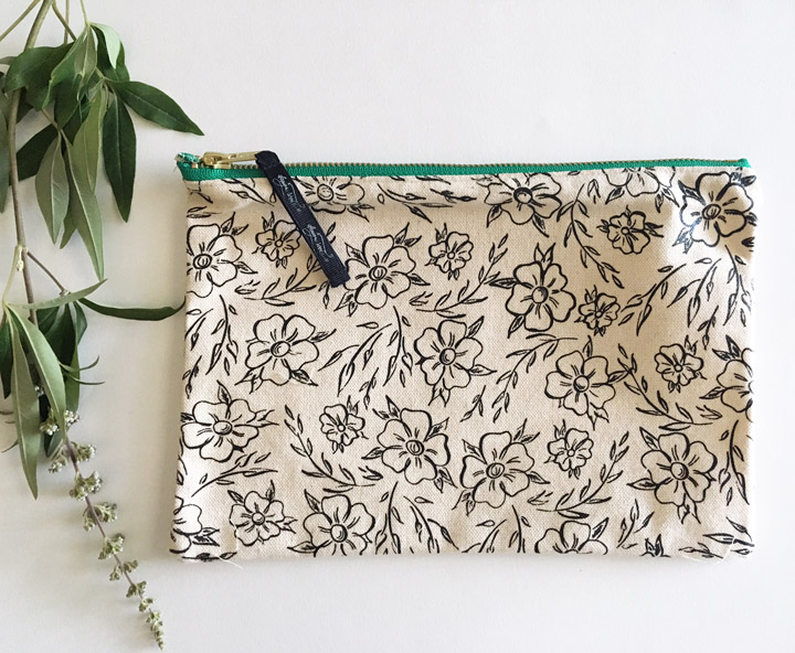 Floral Bloom Canvas Pouch Back.jpg