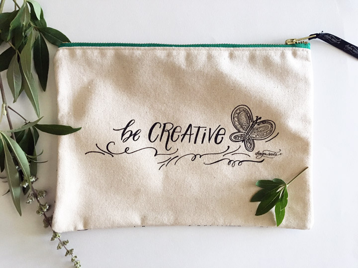 Creative Tulip Canvas Pouch Front.jpg