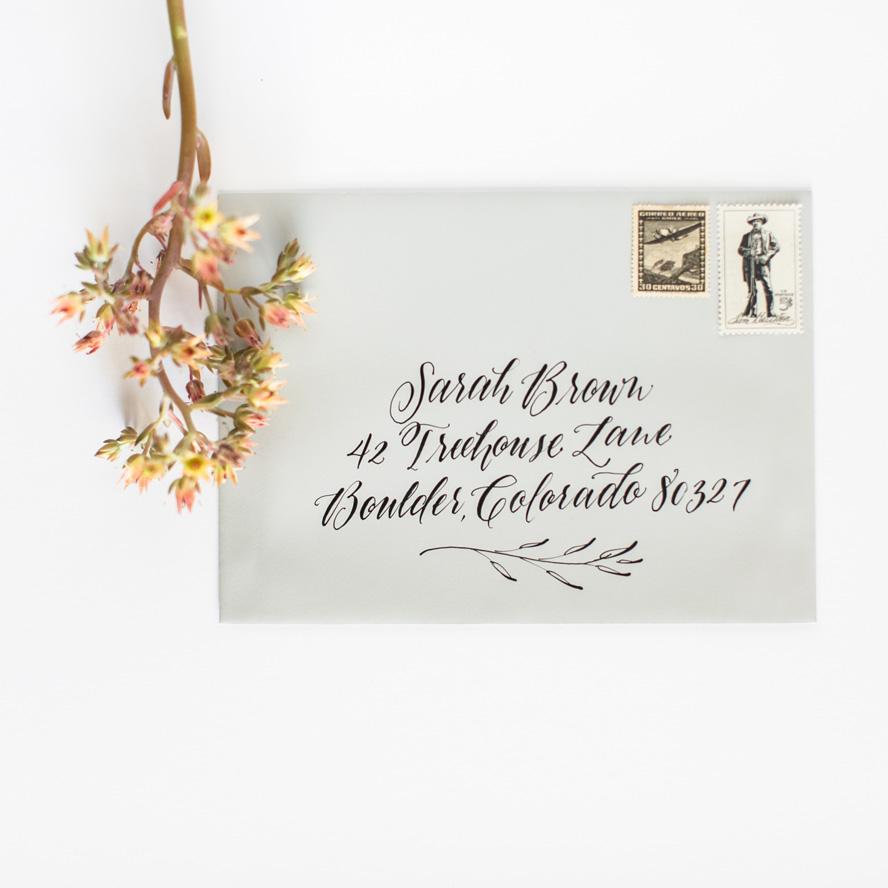 designroots calligraphy - leaf flourish