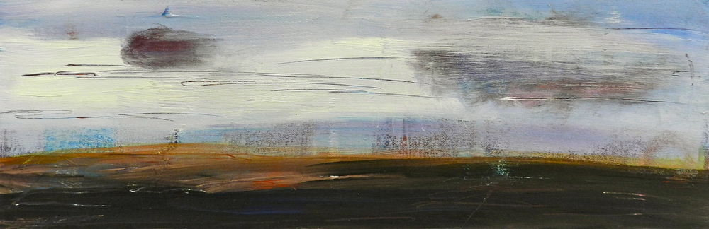 Strand 2, Mixed Media, 18x30, 2012