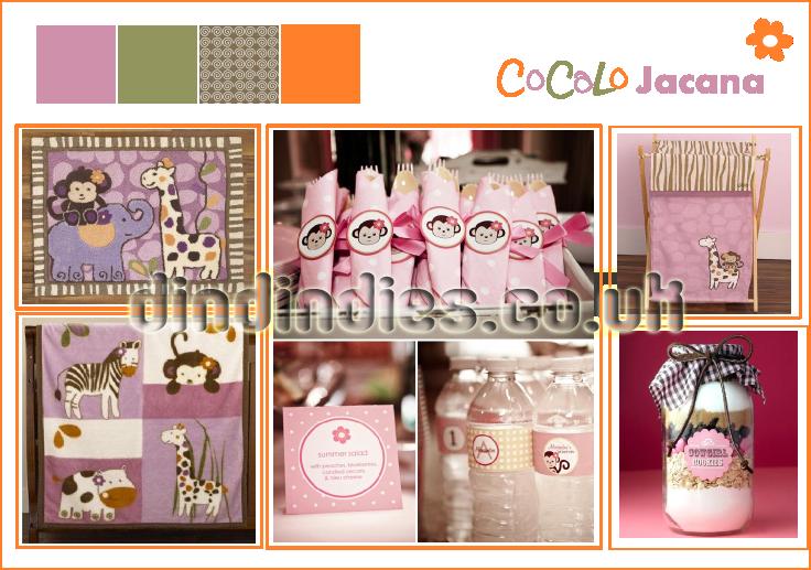 Baby Shower - Cocalo Jacana — Dindindies