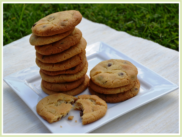 American Chewy Chocolate Chip Cookies