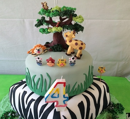 Cake of the month: African Safari Birthday cake by Party Box