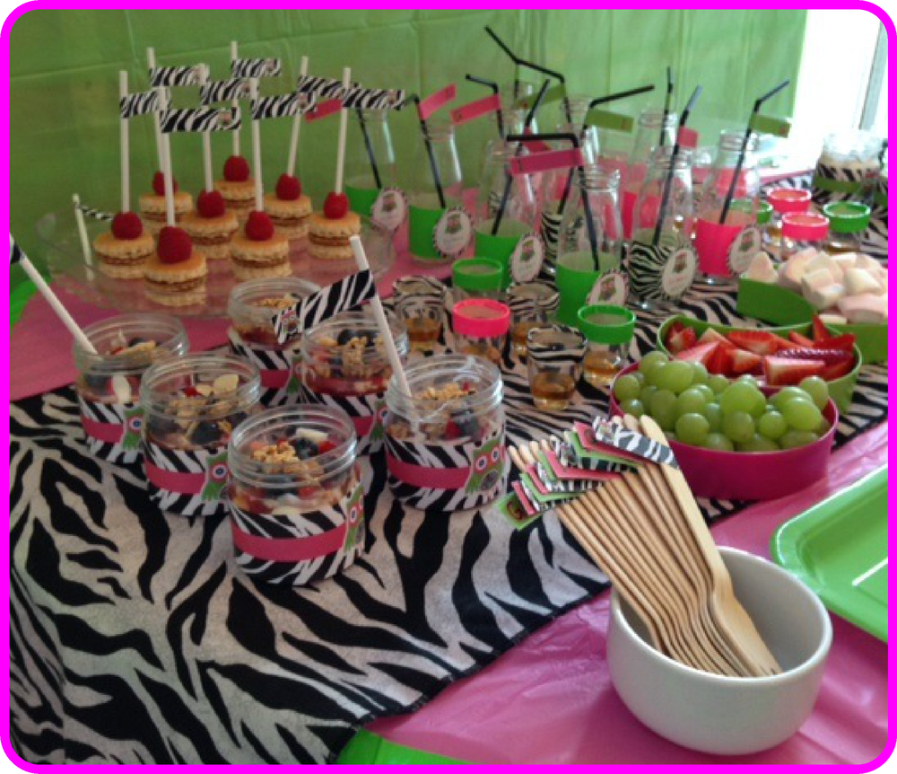 Owl First Birthday Party Food Ideas