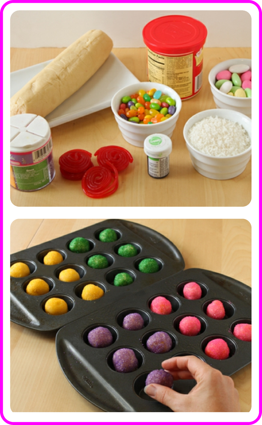 DIY Easter Cookie Baskets