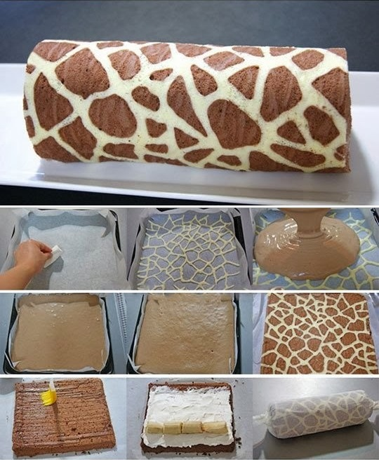 Giraffe Swiss Roll