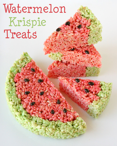 Krispie Treat Ideas