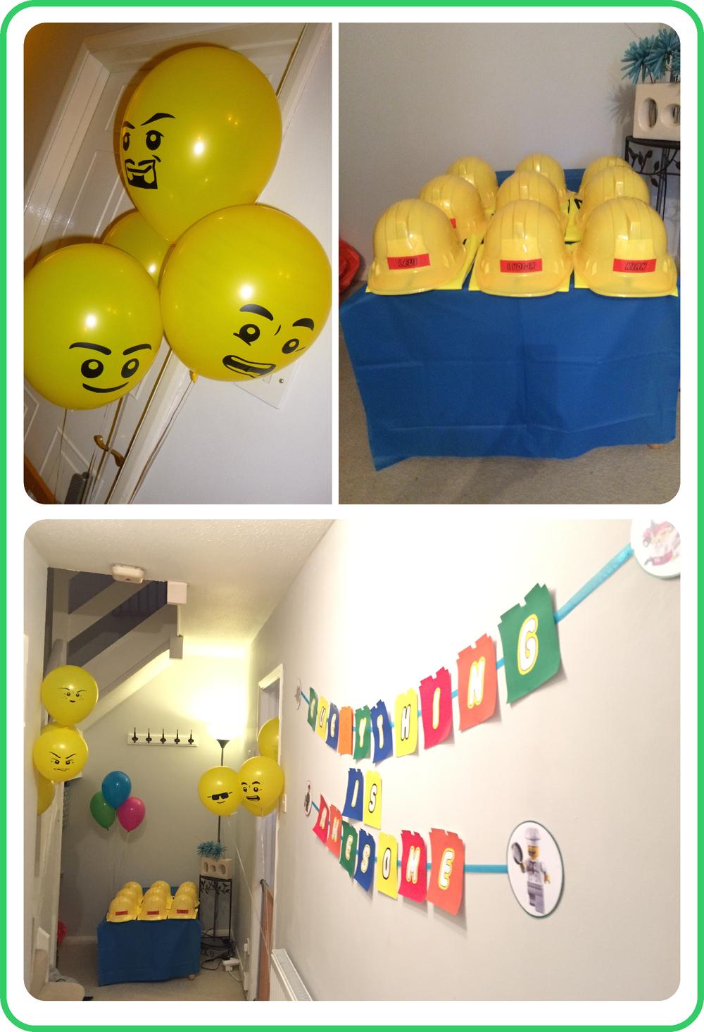 Lego Party Balloons