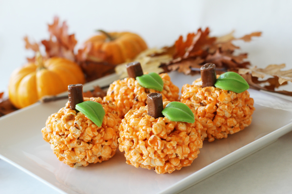 Halloween Popcorn Ball