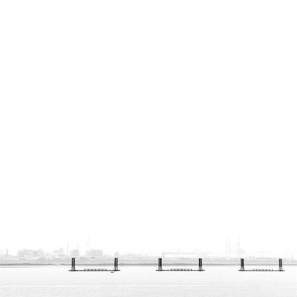 Schelde, Antwerp Belgium 2013, Lambda on dibond, 100 cm x 100 cm, edition 1/5 (sold out) + 1 AP