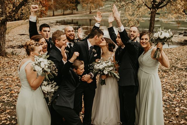 -The Salmans-  Weddings are pretty fun when you don't have to worry about the details. Let Fashioned Events handle all of the moving parts, so you and your loved ones can celebrate in style! . . . #weddingparty #excitement #truelove #lawrencewedding #LFK #celebrateinstyle #weddingplanner #celebration #style