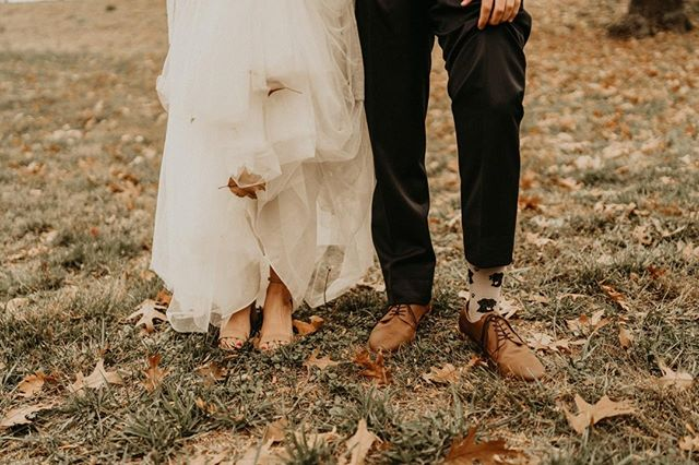 """-The Salmans-  """"I love your feet because they have wandered over the earth and through the wind and water until they brought you to me."""" —Pablo Neruda . . . #wedding #brideandgroom #personaltouch #weddingplanner #celebrateinstyle #lawrencewedding #personalstyle #weddingstyle"""