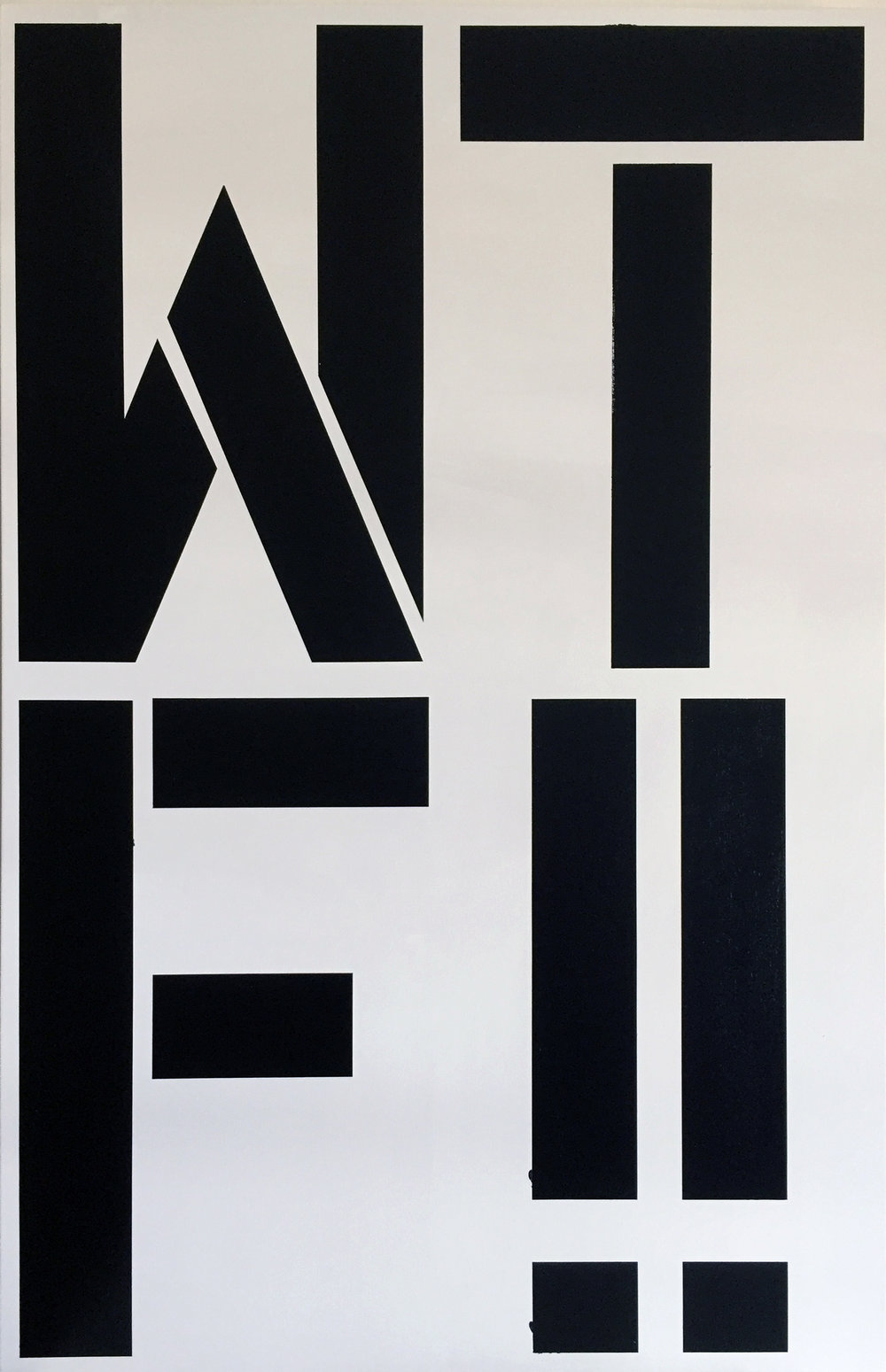 After Christopher Wool – What the Fuck