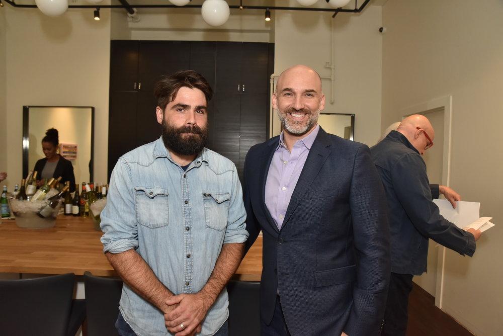 Artist: Jeremiah Jenkins (left) Ian Stallings (right)
