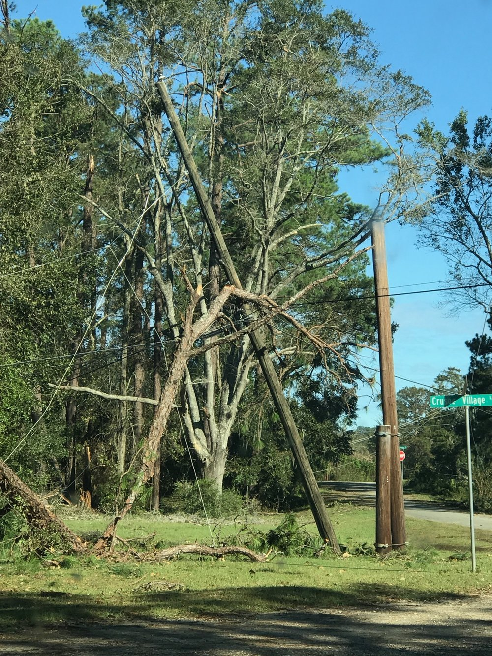 Scenes like this were commonplace in southwest Georgia following Hurricane Michael.