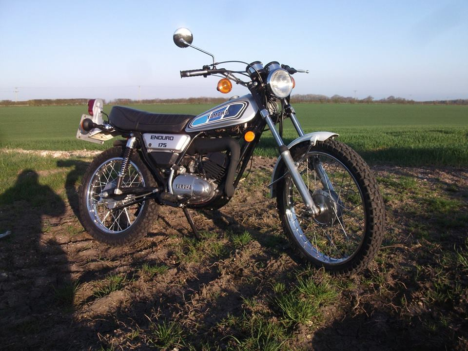 NOW SOLD >>> 1978 Yamaha DT175, new piston/rebore, carb kit fitted , new seat cover, very tidy bike.