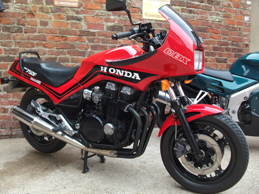 SOLD …..1986 Honda CBX750 , 50,000 miles, MOT until 16th July 2019, obviously a few age related wear and tear marks but overall good condition for year and mileage.