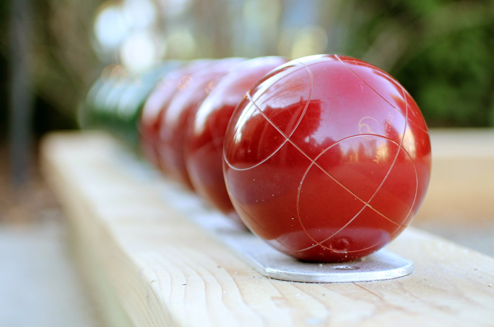 If you've never played Bocce - relax!  It's easy to learn.  The strategy - now, there's the challenge!