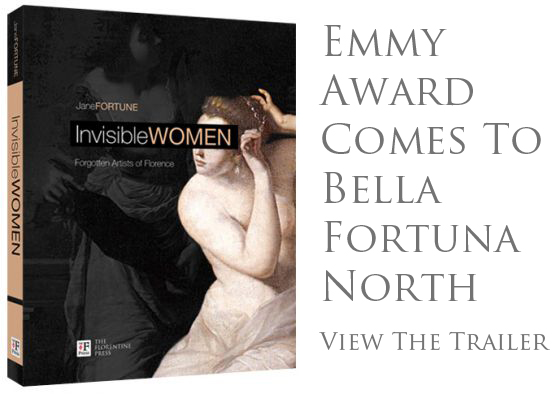 The TV program about Invisible Women, the book by Bella Fortuna co-owner Jane Fortune, received an Emmy award.  Click here to view the trailer.