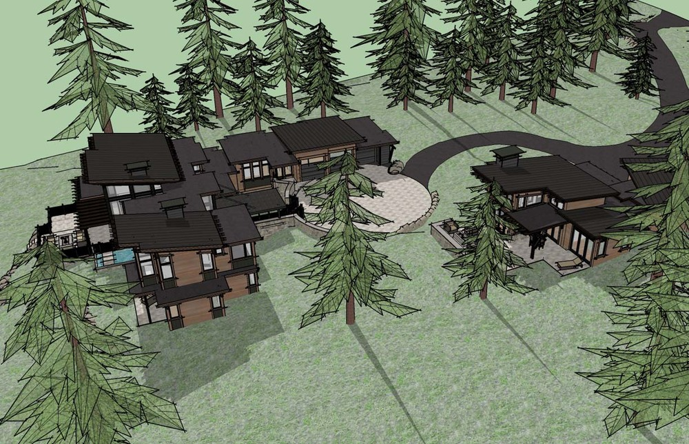 Main house rendering view two.