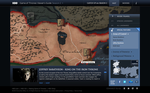 Game of thrones season 2 special features verlinde design got sp feat 04g gumiabroncs Images
