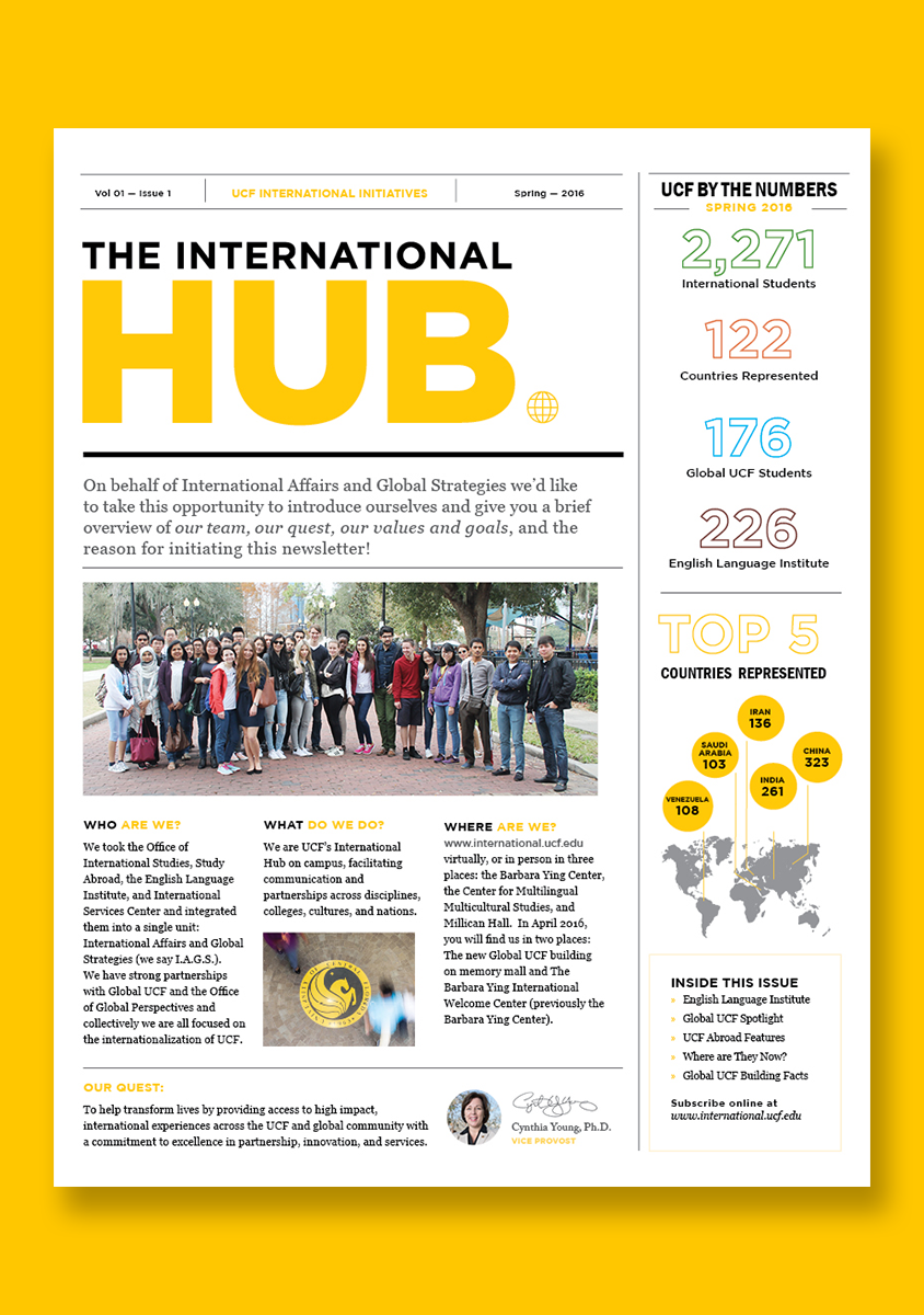 The International Hub Newsletter