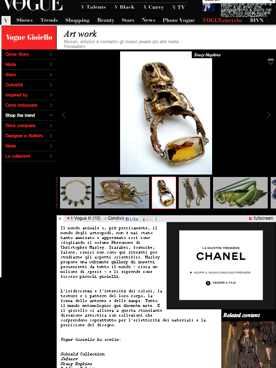 Vogue Gioiello on-line