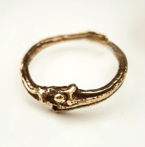 Baroque Vine Ring