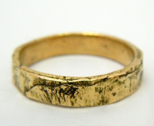 Ginko Wedding Band