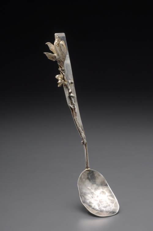 Cast Flower Wedding Spoon