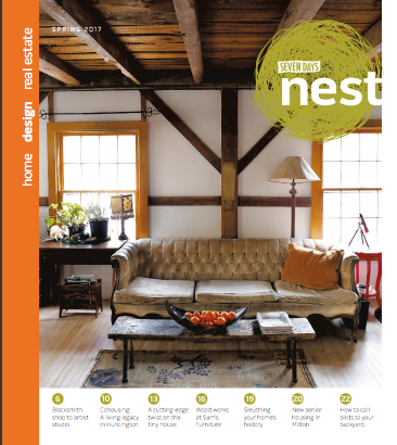 Cover of Seven Days *Nest* Issue Spring 2017