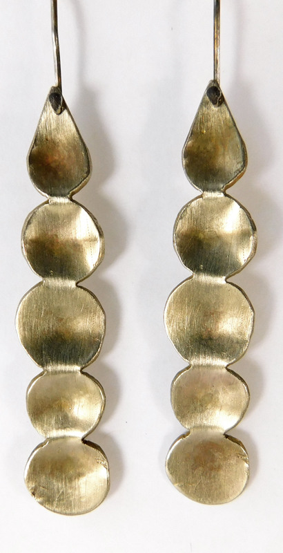 DROP EARRINGS- BRONZE