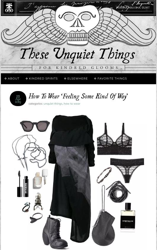 Unquiet things Post- Odontolabis Femoralis Ring 04/19