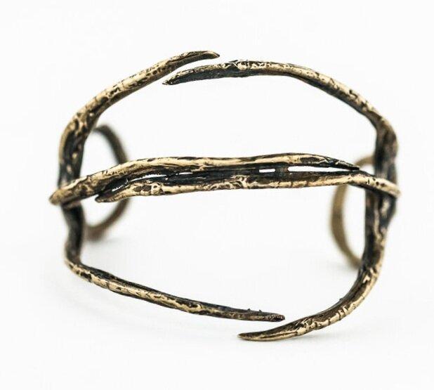 American Bittern Foot Bracelet- Bronze